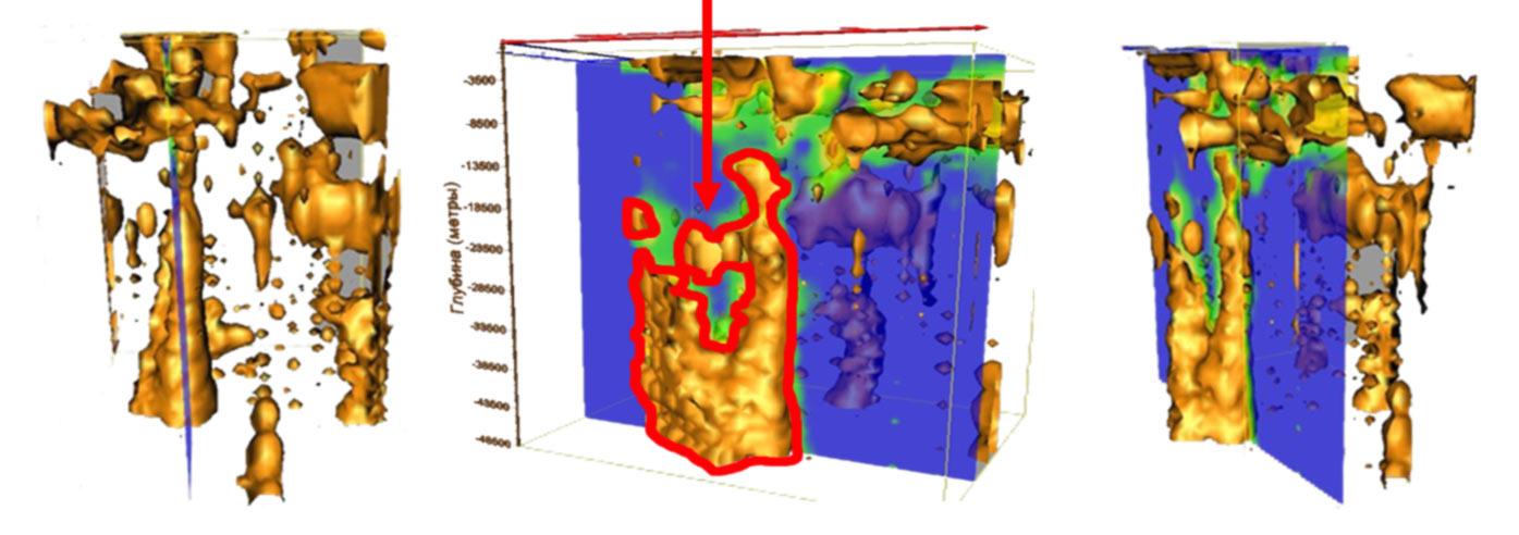 3D модель Астраханского газоконденсатного поля